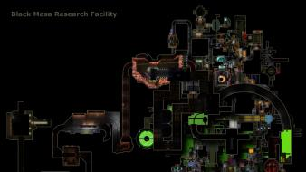 Half-life black mesa maps Wallpaper