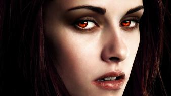 Kristen stewart twilight red eyes faces breaking dawn wallpaper