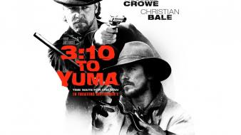 Movie posters 3:10 to yuma russell crowe wallpaper