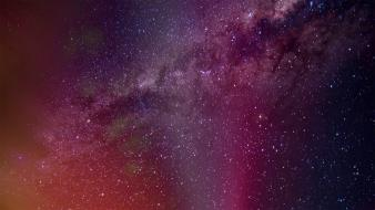 Nature multicolor stars skyscapes aurora australis wallpaper