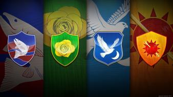 Noble westeros house arryn tyrell tully martell wallpaper