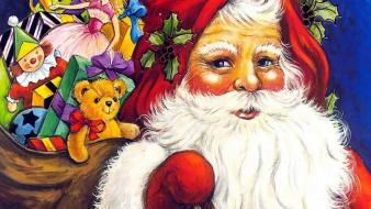 Santa claus new year 2013 wallpaper