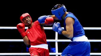 Sports fight boxing boxers olympics 2012 wallpaper