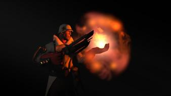 Steam medic tf2 team fortress 2 male game wallpaper