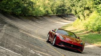 Streets cars ferrari f12 berlinetta race tracks monza Wallpaper