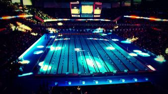 Swimming pools olympics 2012 wallpaper