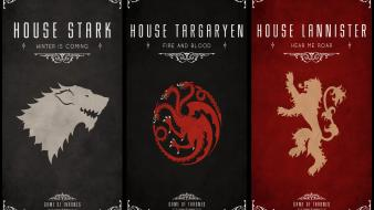 Thrones tv series house lannister stark targaryen wallpaper