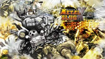 Video games metal slug snk wallpaper