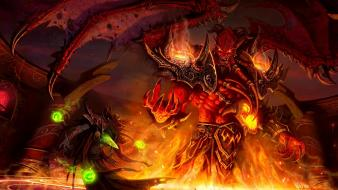 Video games monsters world of warcraft wallpaper