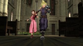 Aerith gainsborough aeris final fantasy crisis core wallpaper