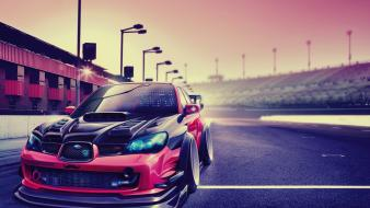 Artwork subaru impreza wallpaper