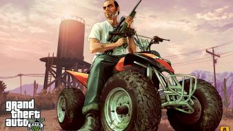 Atv theft auto v gta 5 trevor wallpaper