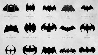 Batman dc comics symbol evolution logos logo Wallpaper