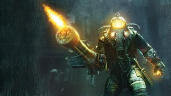 Big daddy bioshock 2 wallpaper