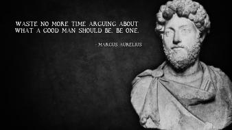 Black and white text quotes history marcus inspirational wallpaper