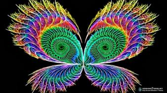 Butterfly effect colors wallpaper