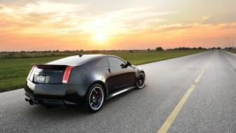 Cars hennessy cts-v cadillac coupe modified tuned car wallpaper