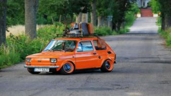 Cars polish poland vehicles tuning fiat 126p polski wallpaper