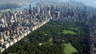 Cityscapes buildings central park parks york cities Wallpaper