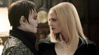 Depp actors scene barnabas collins dark shadows wallpaper