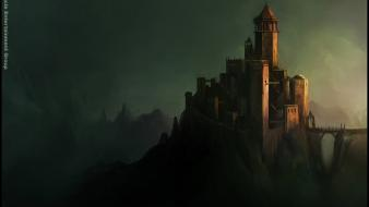 Dracula castle andreas rocha wallpaper