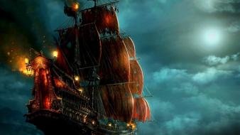 Fantasy art pirates of the caribbean wallpaper
