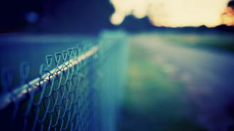 Fences chain link fence Wallpaper