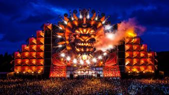 Festival hardstyle q-dance mystery land 2012 wallpaper