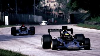 Formula one emerson fittipaldi lotus ronnie peterson Wallpaper
