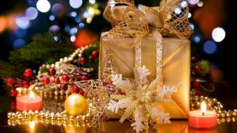 Gifts christmas decorations wallpaper