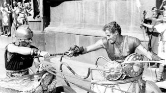 Hollywood charlton heston classics ben hur wallpaper