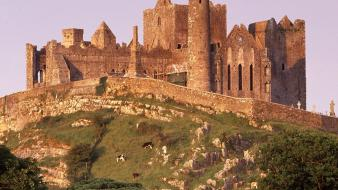 Ireland the rock of cashel wallpaper