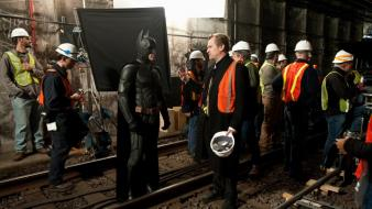 Knight rises christopher nolan set photos workers wallpaper