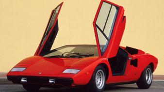 Lamborghini countach lp400 auto Wallpaper