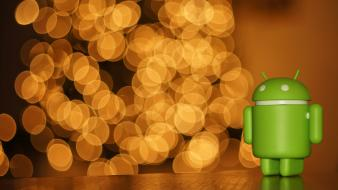 Lights droid android google christmas bokeh iphone holidays wallpaper