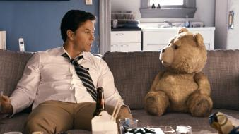 Movies teddy bears ted (movie) wallpaper