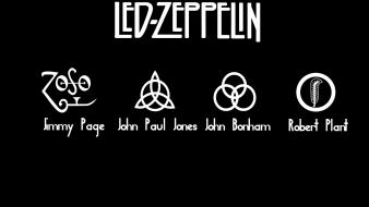 Music led zeppelin rock musican Wallpaper
