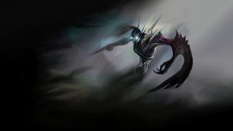 Night league of legends shadows nocturne wallpaper