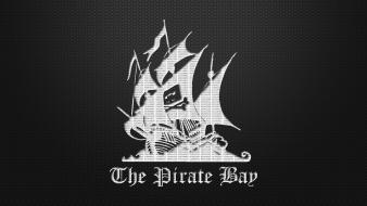 Pirate ship the bay simple background wallpaper