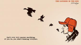 Quotes the catcher in rye wallpaper