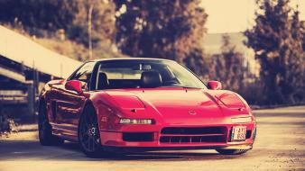 Red cars acura nsx wallpaper