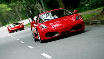 Red cars ferrari enzo sports 458 super car wallpaper