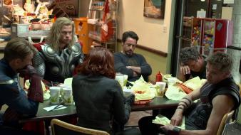 Renner mark ruffalo the avengers (movie) shawarma wallpaper