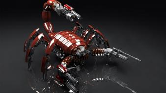 Robots scorpion wallpaper