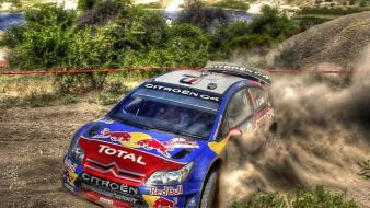 Sébastien loeb citroën world championship car redbull wallpaper