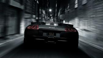 Streets cars lamborghini vehicles murcielago lp640 wallpaper