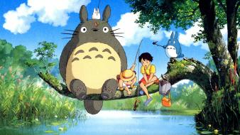 Totoro my neighbour studio ghibli wallpaper