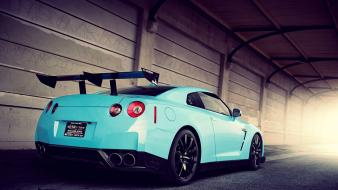 Vehicles spoiler gtr automobiles gt-r r35 skyline wallpaper