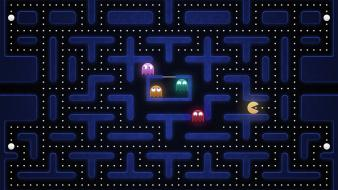 Video games pac-man retro wallpaper