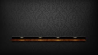 Wall shelf wallpaper